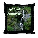 spiritual-principles Throw Pillow