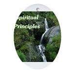 spiritual-principles Oval Ornament