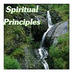 spiritual-principles Square Car Magnet 3