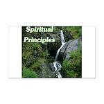 spiritual-principles Rectangle Car Magnet