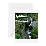 spiritual-principles Greeting Cards