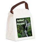 spiritual-principles Canvas Lunch Bag