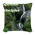 spiritual-principles Woven Throw Pillow