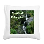 spiritual-principles Square Canvas Pillow