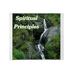 spiritual-principles Throw Blanket