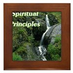 spiritual-principles Framed Tile