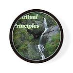 spiritual-principles Wall Clock