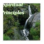 spiritual-principles Tile Coaster