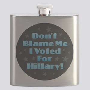 Don't Blame Me - Hillary Flask