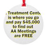 2-meetings-free Ornament