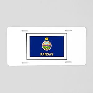 Kansas Aluminum License Plate