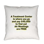 2-meetings-free Everyday Pillow