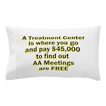 2-meetings-free Pillow Case