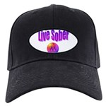 live-sober-aa Baseball Hat