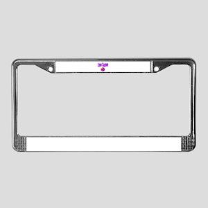 live-sober-aa License Plate Frame