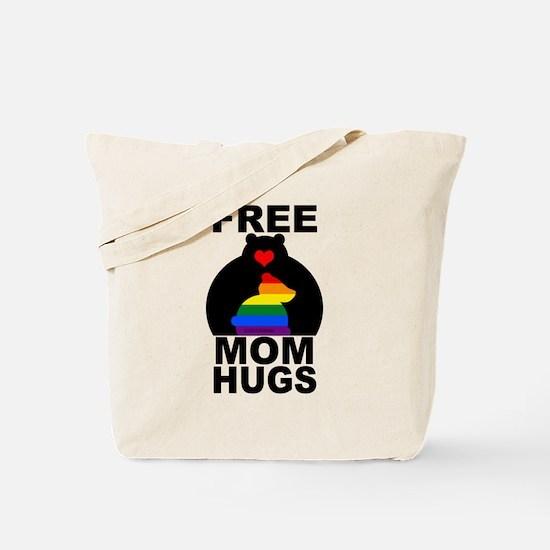 Free Mom Hugs (long) Tote Bag