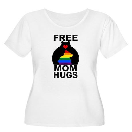 Free Mom Hugs (long) Plus Size T-Shirt