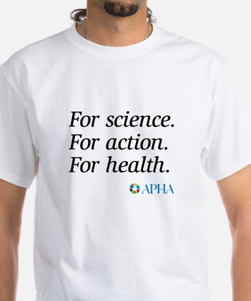 For Science White T-Shirt