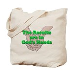 Gods Hands Tote Bag