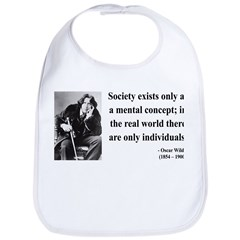Oscar Wilde 21 Bib