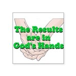 Gods Hands Sticker