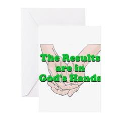 Gods Hands Greeting Cards