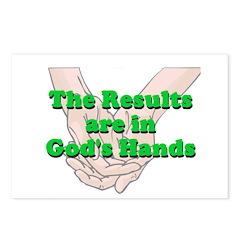 Gods Hands Postcards (Package of 8)
