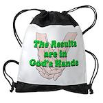 Gods Hands Drawstring Bag