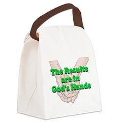 Gods Hands Canvas Lunch Bag
