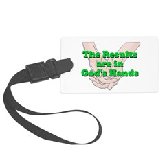 Gods Hands Luggage Tag