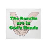 Gods Hands Throw Blanket