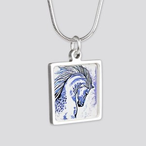 Purple Horse Necklaces