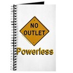No Outlet Powerless Journal