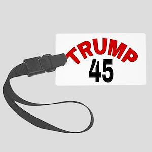TRUMP 45 Large Luggage Tag