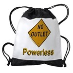 No Outlet Powerless Drawstring Bag