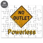 No Outlet Powerless Puzzle