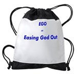 easing-god-out Drawstring Bag