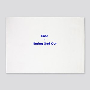easing-god-out 5'x7'Area Rug