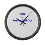 easing-god-out Large Wall Clock