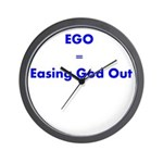 easing-god-out Wall Clock
