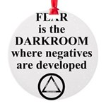 Fear is the Darkroom..... Ornament