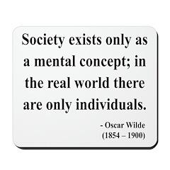 Oscar Wilde 21 Mousepad