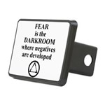 Fear is the Darkroom..... Hitch Cover