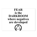 Fear is the Darkroom..... Postcards (Package of 8)