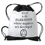 Fear is the Darkroom..... Drawstring Bag