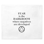 Fear is the Darkroom..... King Duvet