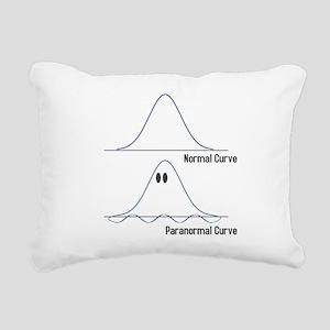 Normal-ParaNormal Rectangular Canvas Pillow