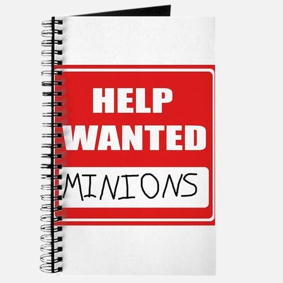 HelpWantedMinions.png Journal