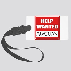HelpWantedMinions Luggage Tag