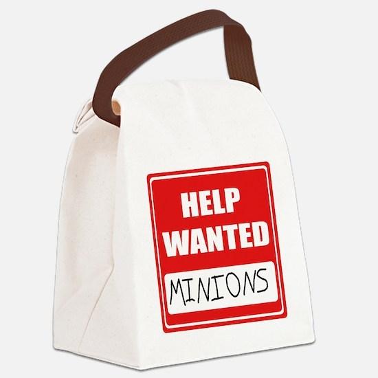 HelpWantedMinions.png Canvas Lunch Bag